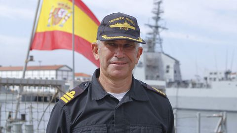 Antonio Estevan, comandante de la F-104