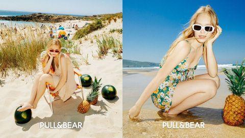 Las imágenes de la campaña Tropical Summer. La firma de moda joven ha publicado las instantáneas de esta colección veraniega en su página web y en los perfiles de sus redes sociales
