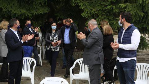 Feijoo acude a la junta directiva del PP de Lugo