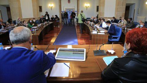 Pleno de la Diputación de Lugo