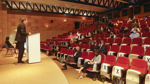 El Cisd e A Cabana acogió ayer un encuentro sobre diseño e innovación empresarial