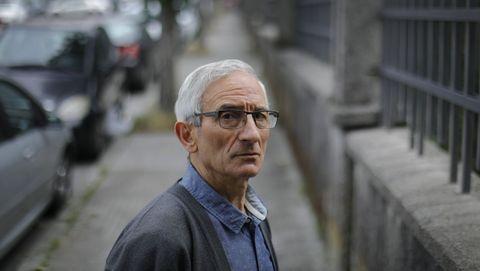 Santiago Fernández García, vecino de A Coruña con mieloma quiescente