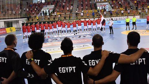 Las imágenes del España-Egipto en el Paco Paz
