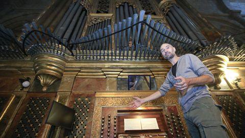Giulio Mercati, al órgano, actuará con Corrado Greco, al piano, en el Círculo
