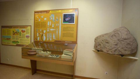 En las salas del museo vilalbés hay piezas y se informa con paneles