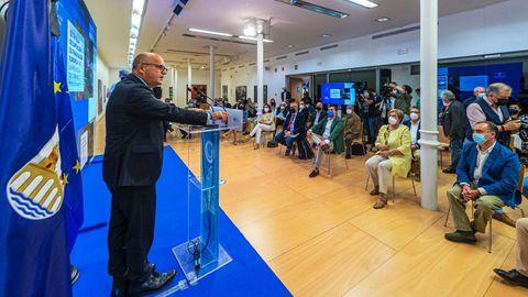 El presidente de la Diputación convocó a los alcaldes para presentar la estrategia