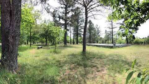 Vista del área recreativa cercana al embalse de Guitiriz, que pertenece a la comunidad de montes de Lagostelle y en donde se talarán varios pinos