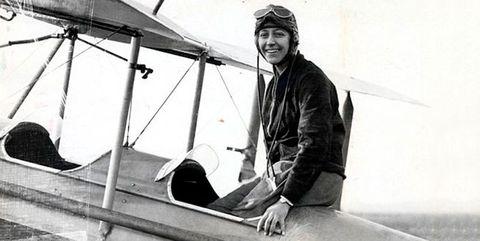 La asturiana María Bernaldo de Quirós, primera mujer piloto de España
