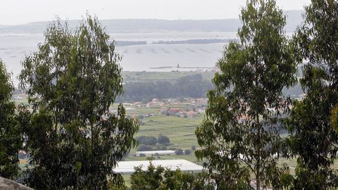 Mirador San Cibrán en Meaño