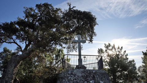 Mirador monte A Pastora, Cambados
