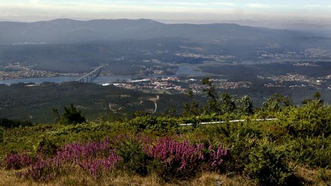 Mirador monte Xiabre, Vilagarcía