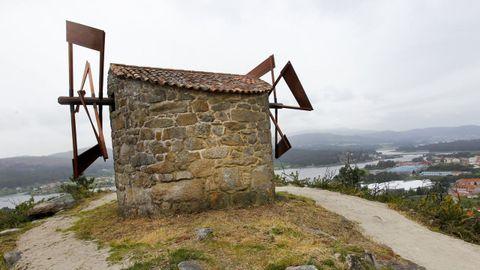 Molinos de viento en Catoira
