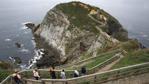 Punta Socastro, en O Vicedo, más conocida como O Fuciño do Porco
