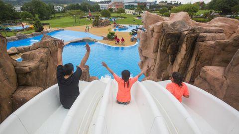 El Aquapark de Cerceda ya inauguró la temporada estival 2021