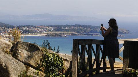 Mirador monte  O Siradella en O Grove