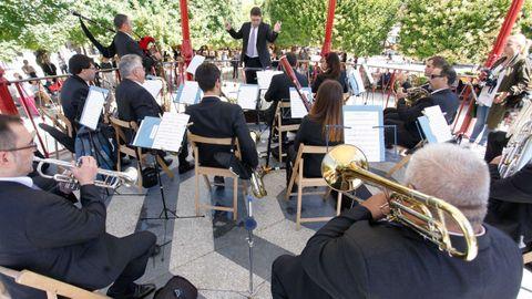 Foto de arquivo da Banda Municipal de Música de Lugo