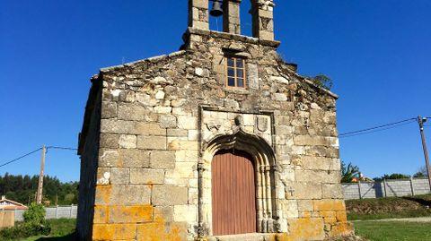 Iglesia de Santa Margarita, en la parroquia de O Val (Narón)