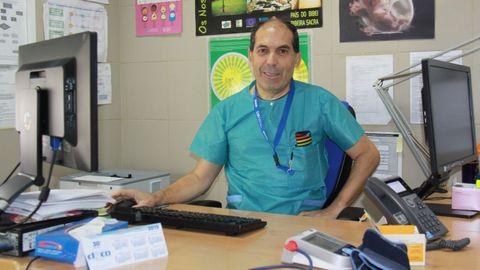 Sergio González Palanca es el jefe de Ginecología y Obstetricia del Hospital Comarcal de Valdeorras
