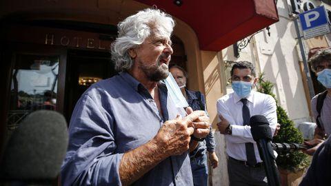 Beppe Grillo, el pasado 25 de junio.
