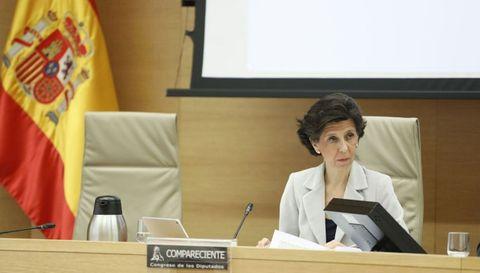 La presidenta del Tribunal de Cuentas, María José de la Fuente y de la Calle