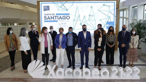 Presentacion del proyecto  carta de santiago  con la Fundacion Paideia