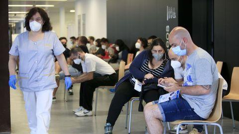 Continúan las vacunaciones masivas en los tres hospitales provinciales