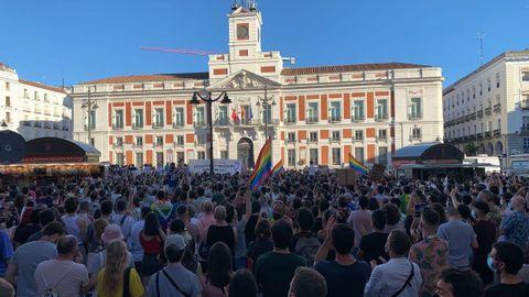 Cientos de manifestantes en Madrid