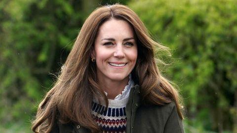 Kate Middleton en una de sus últimas apariciones públicas