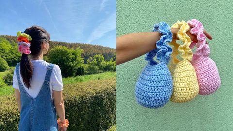 Los bolsos y coleteros de crochet de Yaniro