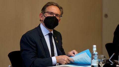 El conseller de Economía, Jaume Giró, ha destacado la «solidez jurídica» de esta iniciativa.