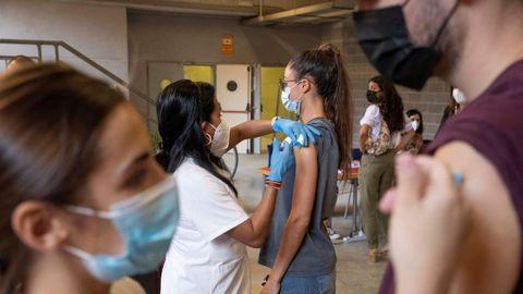 Vacunación de estudiantes Erasmus en Murcia
