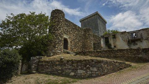 Castillo de O Bolo, también conocido por los habitantes de esta localidad como Torre da Homenaxe.