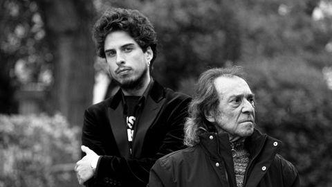 Kiki Morente, en una imagen promocional junto a Juan Habichuela