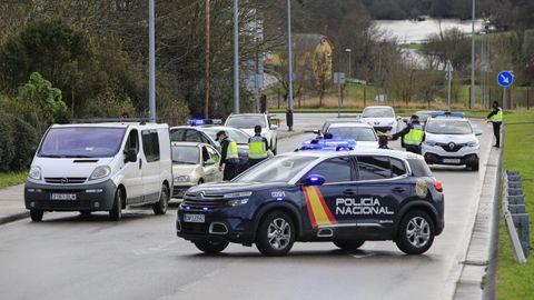 La Policía Nacional, en Lugo