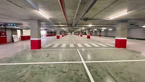 El párking subterráneo de la estación intermodal de Ourense tendrá 300 plazas en dos sótanos