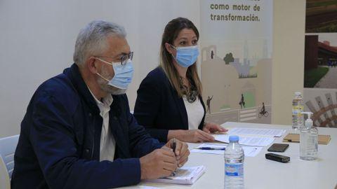 Lara Méndez y Miguel Fernández