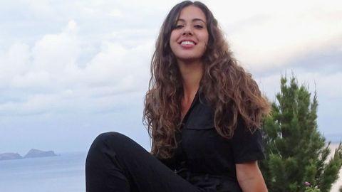 Claudia Pineda, alumna de Belas Artes en Pontevedra, cuyo corto «El viaje, 1988» se proyectará en una sección del Festival de Cannes