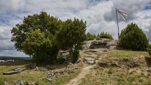 Yacimiento en el que se situaba el castillo de Allariz.