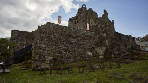 Castillo de los Sarmiento, en el municipio de Ribadavia.