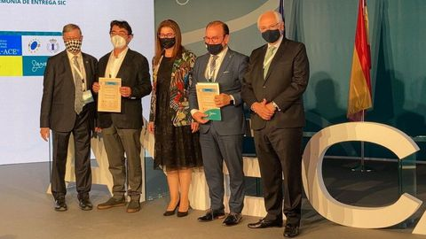 La entrega de los sellos tuvo lugar en un acto celebrado en Madrid
