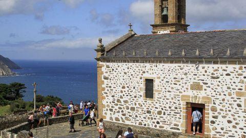 Iglesia de San Andrés de Teixido, en Cedeira