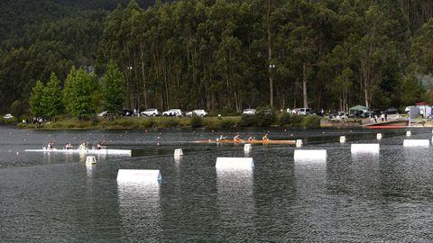 Campeonato gallego Sprint de categoría cadete, celebrado la semana pasada en el Pontillón de Castro