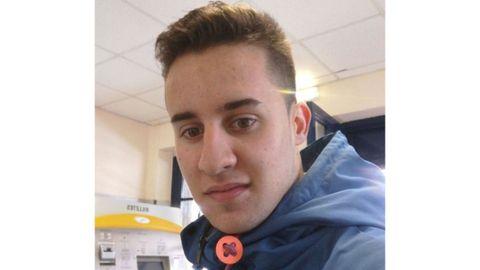 El joven Avelino Díaz se sumó al cribado masivo sin esperar que fuese positivo