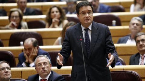 El hasta ahora presidente y consejero delegado de Paradores Nacionales, Oscar López, en una imagen de archivo.