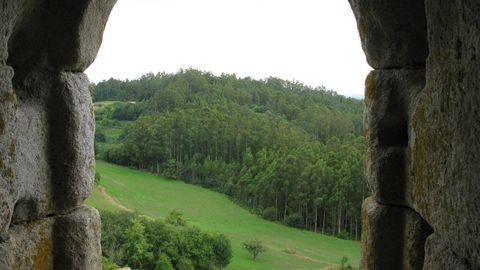 Tierras del Eume desde el castillo de Nogueirosa
