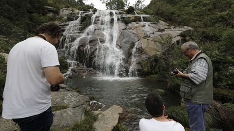 Cascada de Guilán en Xove
