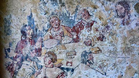 Pnturas murales de Santa Catalina de Montefaro