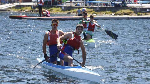 El Campeonato Galego Sprint empezó este sábado en el Centro Deportivo David Cal de Verducido