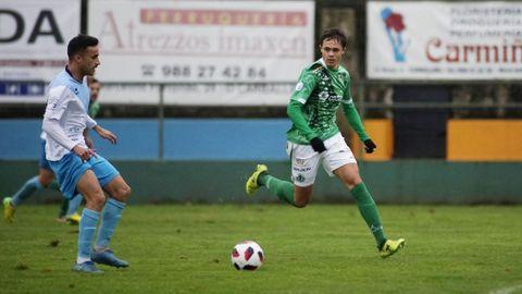 Cassio volverá a vestir de verde tras dos años en el Ourense CF