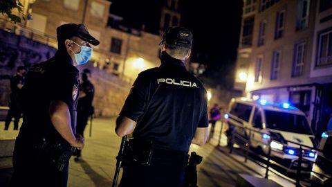 La Policía intervino en varias zonas de la capital